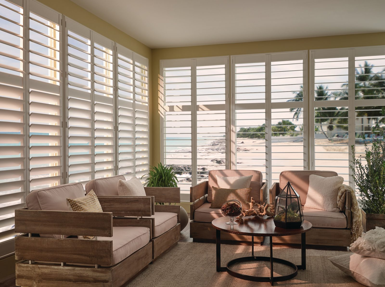 Home Decor Essentials for Winter including Wooden Shutters
