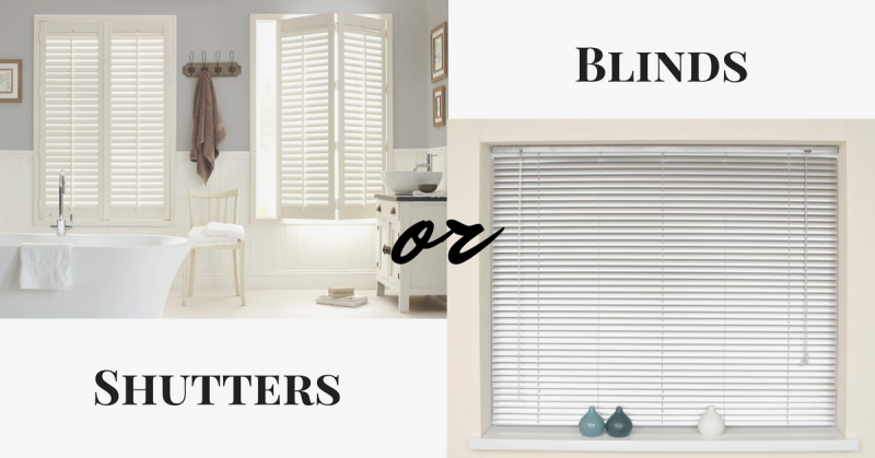 Shutter Blinds or Blinds