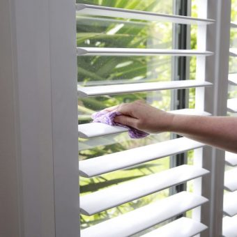 Cleaning Patio Shutters