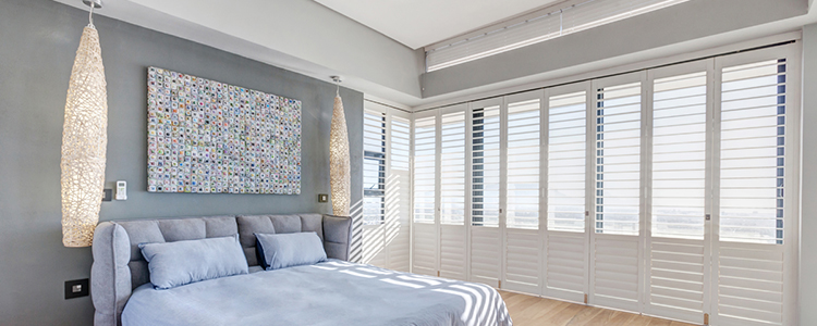 Decorative Aluminium Bedroom Shutters